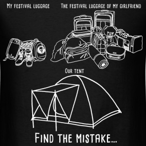 my_festival_luggage04 T-Shirts - Men's T-Shirt