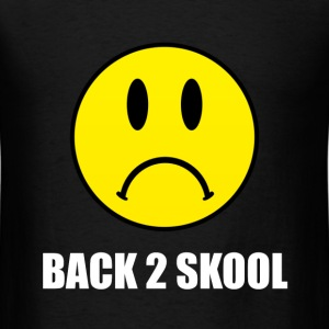 Back Two School Sad - Men's T-Shirt