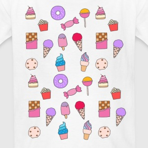 sweets, sugar & cute cake Kids' Shirts - Kids' T-Shirt