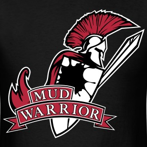 Mud Warrior - Spartan T-Shirts - Men's T-Shirt