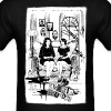 Sitting Crooked - Men's T-Shirt