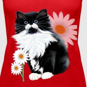 Kitten and Daisy - Women's Premium Tank Top