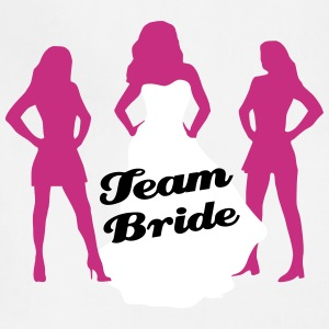 Team Bride, Bachelorette Party, wedding Aprons - Adjustable Apron