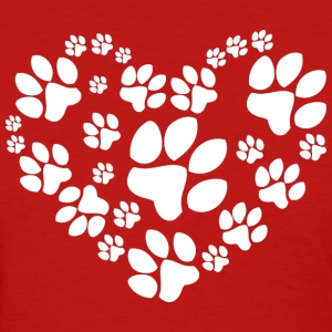 Love Paw - Women's T-Shirt