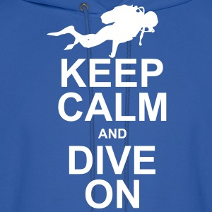 Keep Calm and Dive On (KCDO) Hoodies - Men's Hoodie
