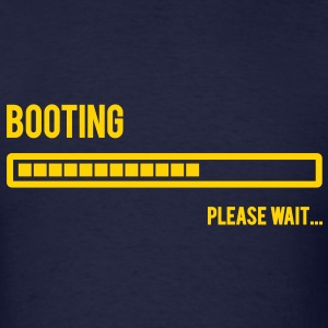 Booting... Please Wait... - Men's T-Shirt