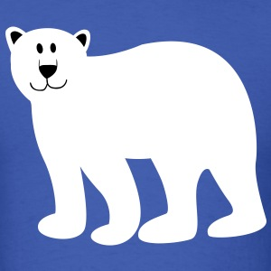 Cute Bear - TWO COLOR VECTOR T-Shirts - Men's T-Shirt
