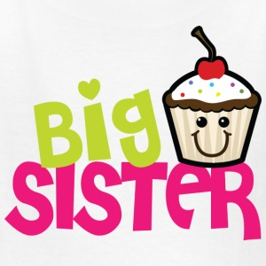 Big sister cupcake - Kids' T-Shirt
