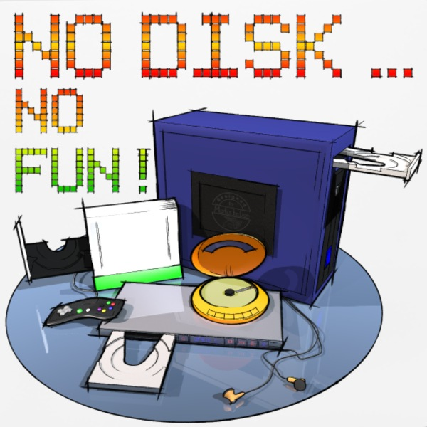 no disk no fun 3000 - DIGITAL Other - Mouse pad Horizontal