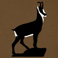 Mountaingoat Chamois Gemse proud T-Shirts