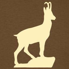 Mountaingoat Chamois Gemse T-Shirts