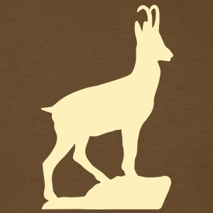 Mountaingoat Chamois Gemse T-Shirts - Men's T-Shirt