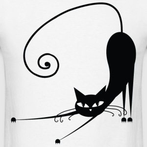 Black Cat T-Shirts - Men's T-Shirt