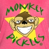 Monkey Pickles Vintage Throwback Women's Shirt - Women's Vintage Sport T-Shirt