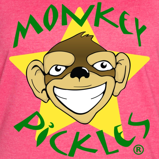 Monkey Pickles Vintage Throwback Women's Shirt
