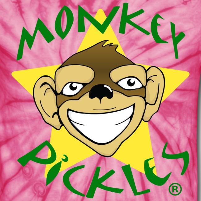 Monkey Pickles Unisex Tie Dye T-Shirt