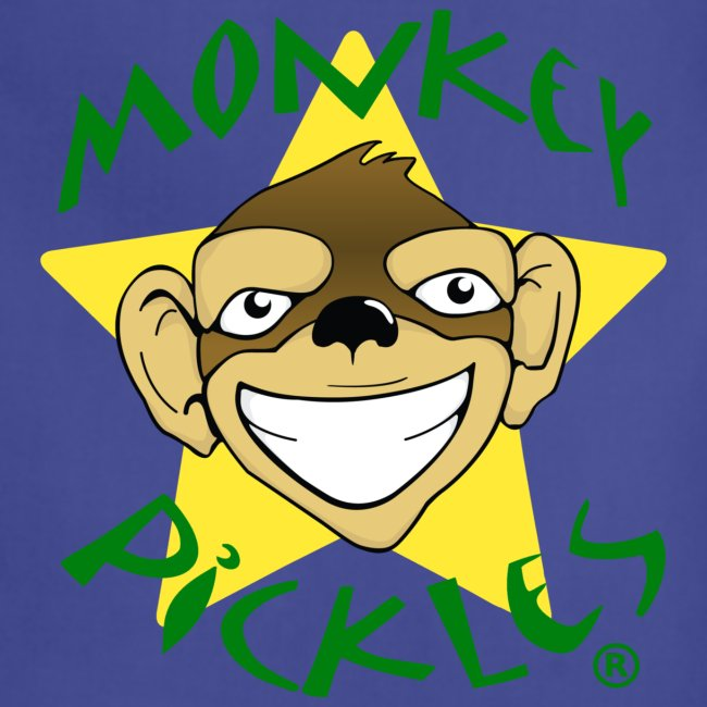 Monkey Pickles Adjustable Apron