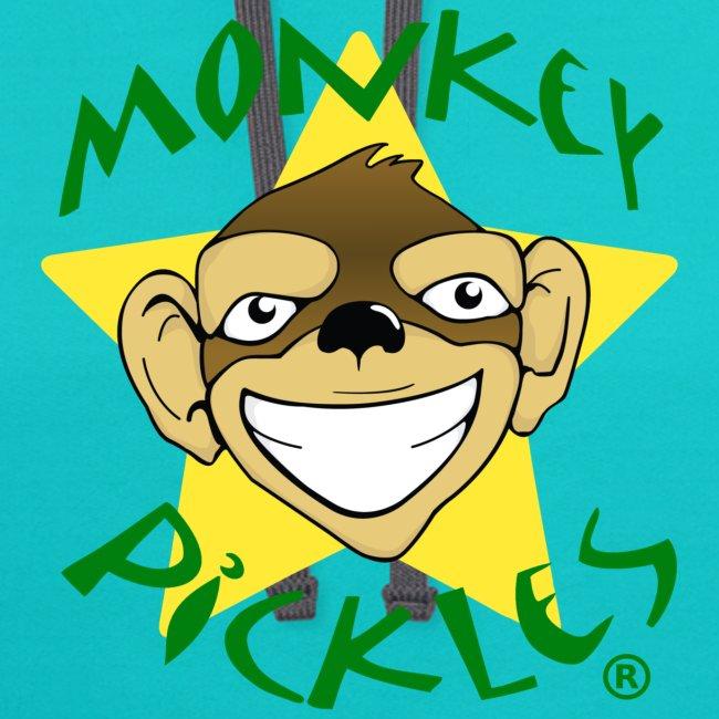 Monkey Pickles Contrast Hoodie