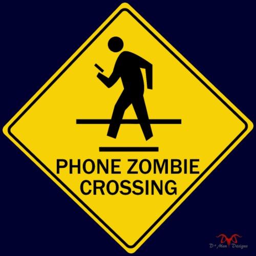 Phone Zombie Crossing