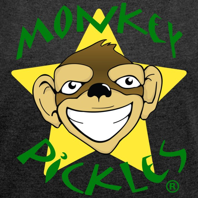 Monkey Pickles Women's Roll Cuff T-Shirt