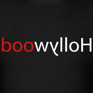 Hollywood is backward. Red highlight for clarity and emphasis. - Men's T-Shirt