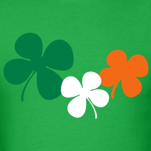 Ireland Shamrock T-Shirts - Men's T-Shirt