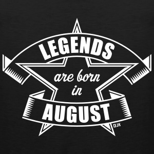 Legends are born in August (Birthday Present Gift) Sportswear - Men's Premium Tank