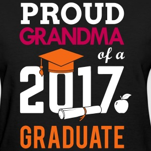 Class of 2017 Proud Grandma Graduation T-Shirts - Women's T-Shirt
