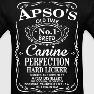 Apsos Dog Old Time No1 Breed Canine Perfection T-Shirts - Men's T-Shirt
