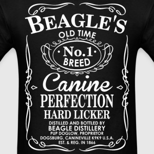 Beagles Dog Old Time No1 Breed Canine Perfection T-Shirts - Men's T-Shirt