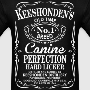 Keeshoundens Old Time No1 Breed Canine Perfection T-Shirts - Men's T-Shirt