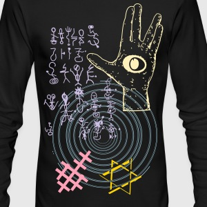 SPIRITUAL GRAFFITI 10 - Men's Long Sleeve T-Shirt by Next Level
