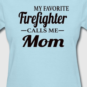 Firefighter's Mom - Women's T-Shirt