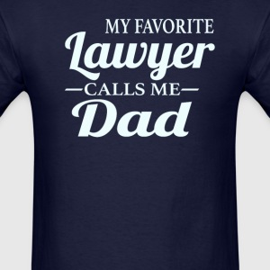 Lawyer's Dad - Men's T-Shirt