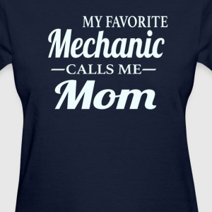 Mechanic's Mom - Women's T-Shirt