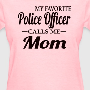 Police Mom - Women's T-Shirt