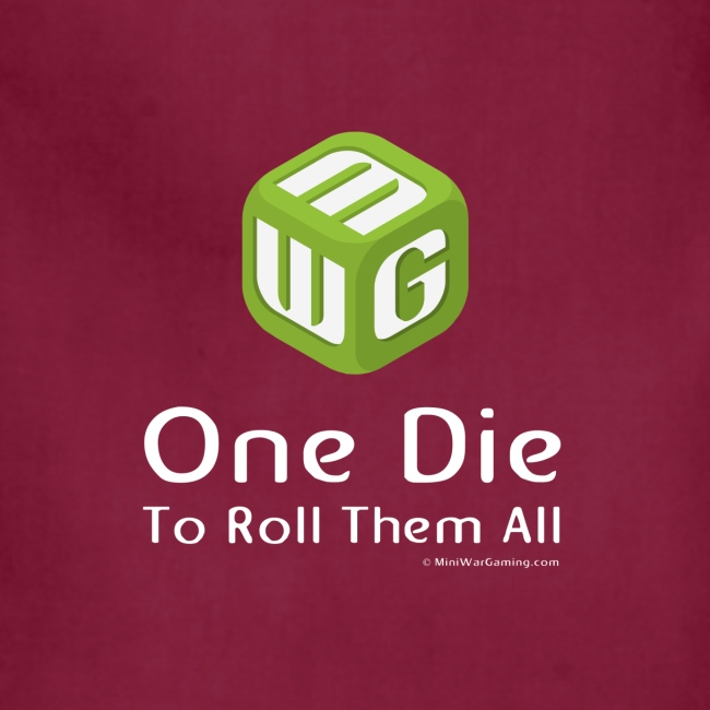 One Die To Roll Them All Apron