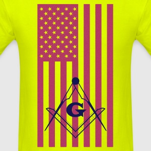 MASONIC AMERICAN 1 - Men's T-Shirt