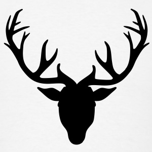 Deer antlers T-Shirts - Men's T-Shirt