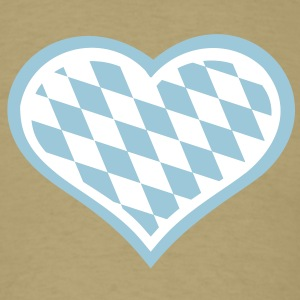 Bavaria heart T-Shirts - Men's T-Shirt