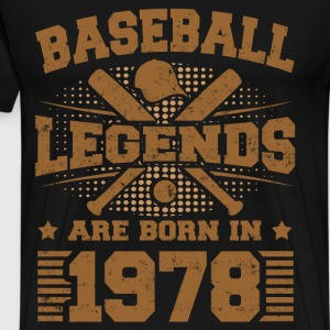 legends 1978 a.png T-Shirts - Men's Premium T-Shirt