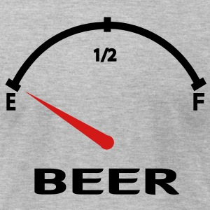 Beer Empty T-Shirts - Men's T-Shirt by American Apparel