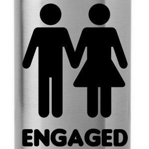 Engaged Couple Sign Accessories - Water Bottle