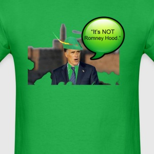 It's not Romney hood funny robin hood tax dodge  - Men's T-Shirt
