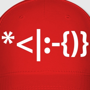 Santa with Beard Emoticon Smiley Caps - Baseball Cap