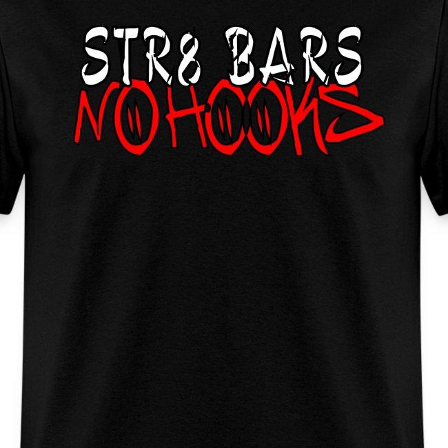 "C2D ""Str8 Bars No Hooks"" LOGO T-shirt"