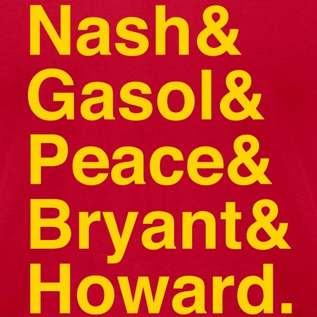 Los Angeles Lakers 12-13