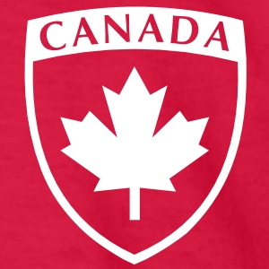 CANADA SHIELD EMBLEM Kids' Shirts - Kids' Long Sleeve T-Shirt