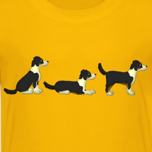 sit down stay puppie Kids' Shirts - Kids' Premium T-Shirt