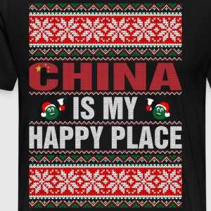 China Is My Happy Place T-Shirts - Men's Premium T-Shirt
